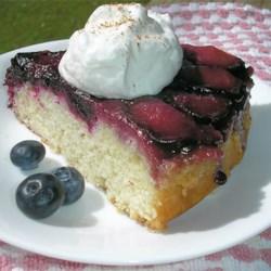 Plum Blueberry Upside Down Cake Photos - Allrecipes.com