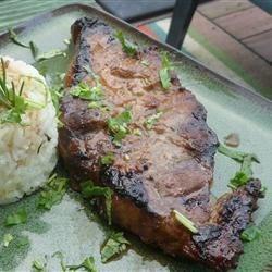 Korean Marinated Flank Steak