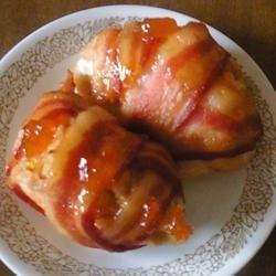 Apricot Coconut - Chicken Bacon Wraps