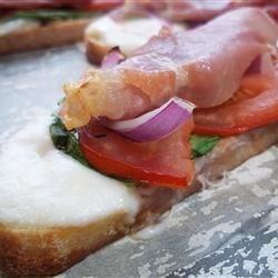 My Italian Salad Sandwich