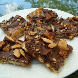 Crunch Bar Recipe - Easy to make and tastes like a Heath Bar.