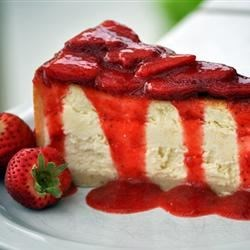 Supreme Strawberry Topping Recipe and Video - Awesome restaurant-style strawberry topping. Serve cold over cheesecake or ice cream.