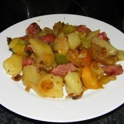 Polish Meat and Potatoes