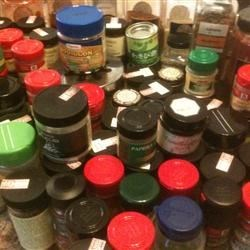 Here's Some of Our Spices
