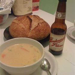 Wisconsin Native's Beer Cheese Soup as made in MO