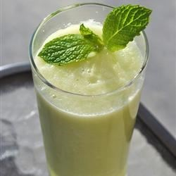 Cucumber Cooler Recipe - Use your food processor or blender to turn a few cucumbers, lime juice, sugar, and water into a uniquely refreshing beverage with this recipe.