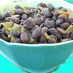 Brazilian Black Bean Soup Recipe - A hearty bean soup with the surprising kick of orange juice!  A nice break from the usual.