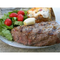 Murphy Steaks Recipe - This is a very simple, quick, delicious recipe for garlic-stuffed steaks. We use a lot of garlic! Serve with baked potatoes and a green salad.