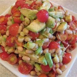 White Bean, Tomato, and Avocado Salad
