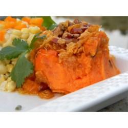 Sweet Potato Carrot Crisp