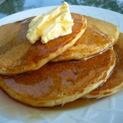 Cream of Wheat Griddlecakes Recipe - Adding instant cream of wheat to the pancake batter gives these yummy pancakes a protein boost.