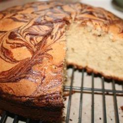 My Ganache Swirled Spice Cake