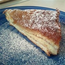 Skiers' French Toast Recipe - For this French toast casserole, you layer the syrup, bread and milk-egg batter in a baking dish the night before.  In the morning, just bake and serve for a time-saving breakfast everyone can enjoy.