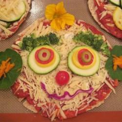 Veggie Pizza Face