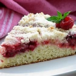 Raspberry and Strawberry Buckle Recipe - I've always called this a buckle (I'm from the Midwest), but my friends here in California, say it's a 'coffee cake', but no matter the name they love it!