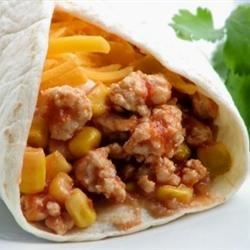 Gary's Turkey Burritos