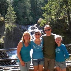 Family at Little Qualicum