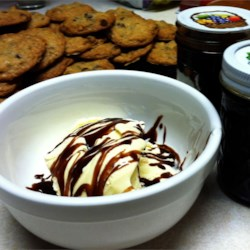 Sue's Hot Fudge Sauce Recipe - Decadent thick and delicious hot fudge sauce. Simple to make and so much better than store-bought!