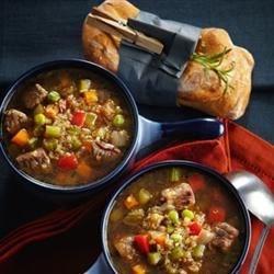 Beef vegetable quinoa Soup