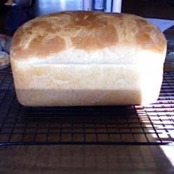 Amish Bread Recipe - This a sweet and simple white bread recipe that's great for sandwiches.