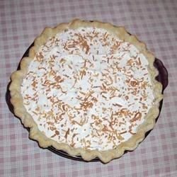 Coconut Cream Pie I