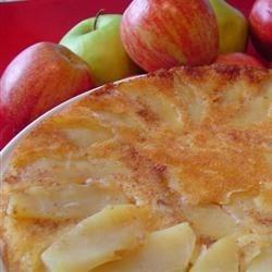 Baked Apple-Pecan Maple Pancakes