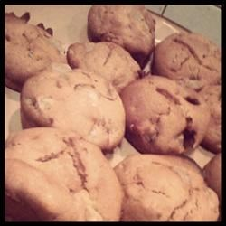 Pear-a-dise muffins