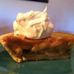 Banoffee Recipe - Irresistibly inventive, this pie recipe calls for sweetened condensed milk that is boiled in its unopened can for three hours until it turns into a fabulous toffee. Then the toffee is poured into a graham cracker and gingery crust and topped with sliced bananas and whipped cream.