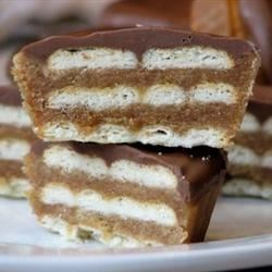 Kitty Kat Bars Recipe - These bars are similar to the a popular candy bar.
