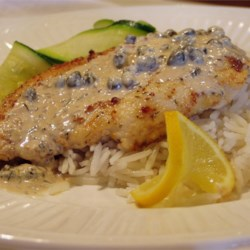Chicken Breasts in Caper Cream Sauce Recipe - A family favorite, these chicken breasts get the full-flavored treatment: these are smothered in a creamy dill and caper sauce, and seasoned with lemon pepper and garlic powder.