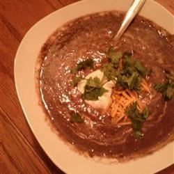 Fast and Delicious Black Bean Soup Recipe - A fast and easy recipe for black bean soup sure to delight your taste buds.
