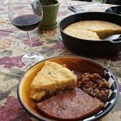 Southwest style corn bread