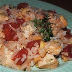 Chicken Pilaf Saute