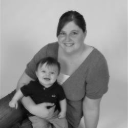 Me and my son Derek