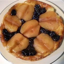 Tarte Tatin Recipe - Although this version is less formal than the fussy French variety, this tart is simply wonderful. Butter is spread in the bottom and sides of a springform pan and sprinkled with sugar. Apple slices are arranged in an overlapping pattern and then covered with a round of pastry. The pie is baked and then inverted onto a serving plate so that the apples are on top and the crust is underneath.