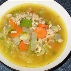 Barley Turkey Soup