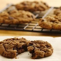 Amena's Triple Chocolate Chip Cookies Recipe - This cookie recipe uses semi-sweet, white, and milk chocolate chips for triple the chocolate impact!