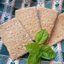 Oatmeal Crackers Recipe - Tender crackers made from oat flour, whole wheat flour, and a few other simple ingredients make nice quick treats for the kiddies. Make them sweet or savory by varying the seasonings. Grown-ups like them too.