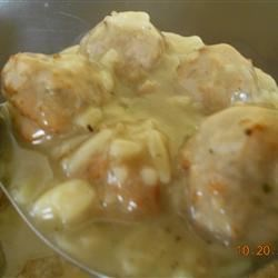 Meatball Orzo Soup Recipe - This soup is a variation of the wonderful Greek avgolemono soup. Using ready-made meatballs makes it a quick and easy supper dish, but it doesn't shortcut the hearty soup's delicious flavor.