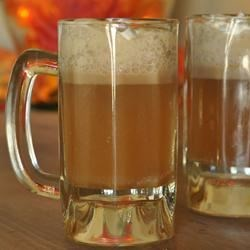 Butterbeer III Recipe - This version of  'butterbeer' is topped with a brown sugar-accented whipped cream.