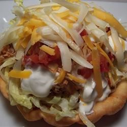 Mini Chicken Taco Salad