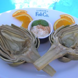Dipping Sauce for Artichokes Recipe - This quick dipping sauce for artichokes has just mayonnaise, garlic, basil, lemon juice, and Worcestershire sauce.
