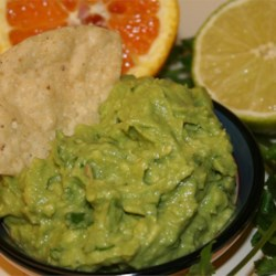 Citrus Infused Guacamole