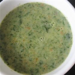 Spinach Garlic Soup