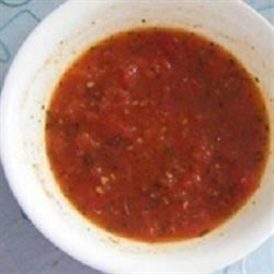 Low-Fat Fire Roasted Tomato and ChickenSoup