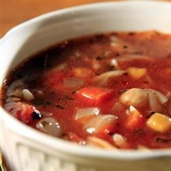 Minestrone Soup with Orzo