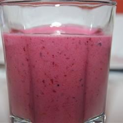 Berry Good Smoothie Recipe - The natural sweetness of three types of berries bring their wonderful, fresh flavor to this tasty summer drink.