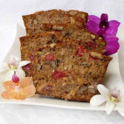 Hawaiian Banana Nut Bread Recipe - This is a recipe that I put together, out of several different ones. It's very easy and very good.