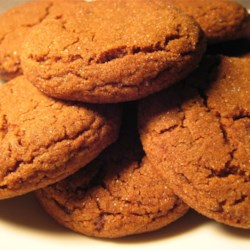 Molasses Sugar Cookies I Recipe - These cookies store wonderfully and keep for several days.