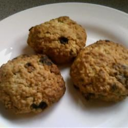 Oatmeal Dried Fruit Cookies Recipe - These are the best oatmeal cookies I've ever had! Very buttery and very hearty. Any dried fruit works well such as cherries, raisins, cranberries, blueberries, or chopped apricots. For a really decadent treat, use chocolate chips and nuts instead of fruit.